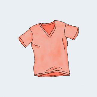 vneck tee 324x324 - Vneck Tshirt