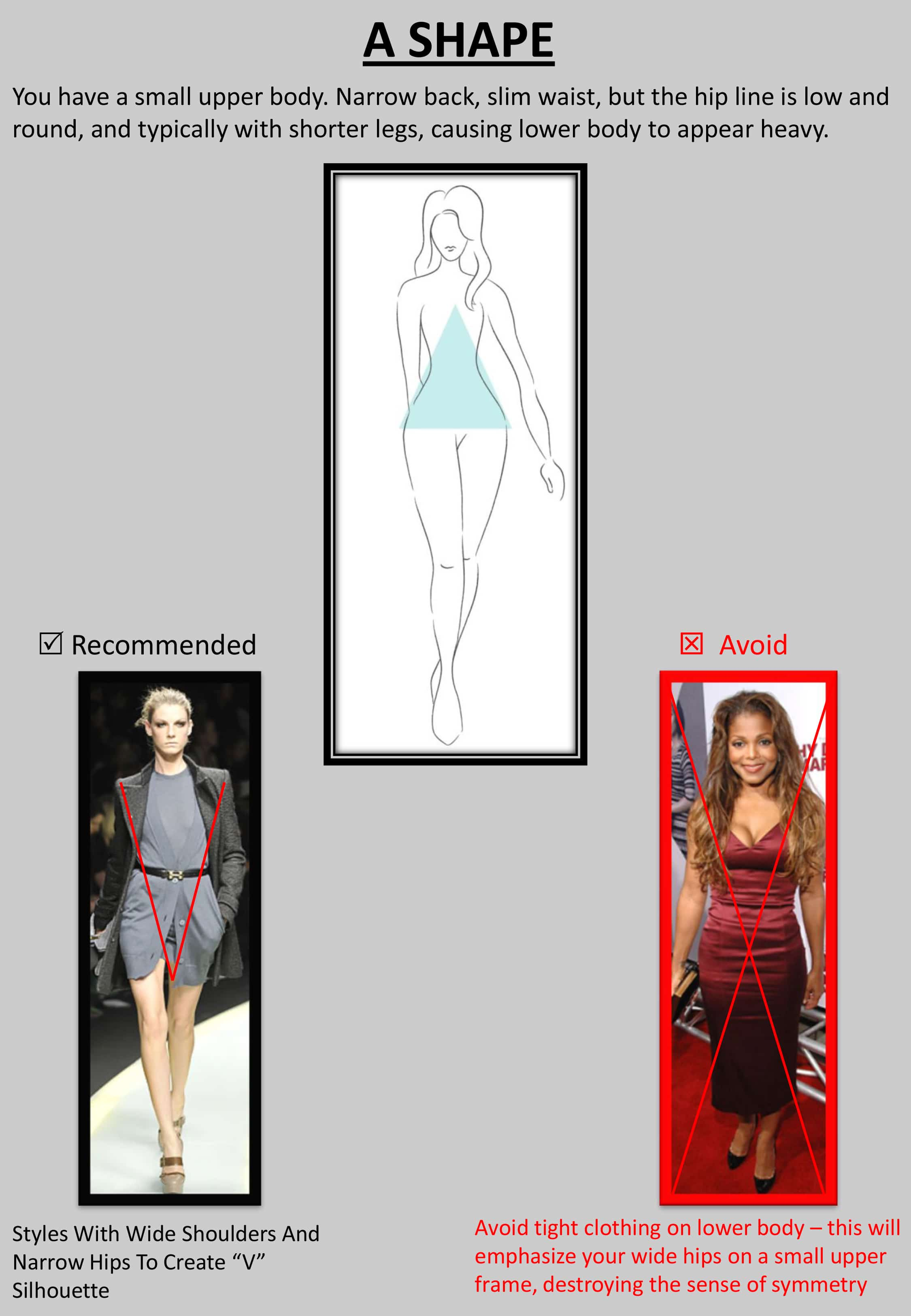"""A result - Tips : """"How to Dress up Your Body Shape?"""""""