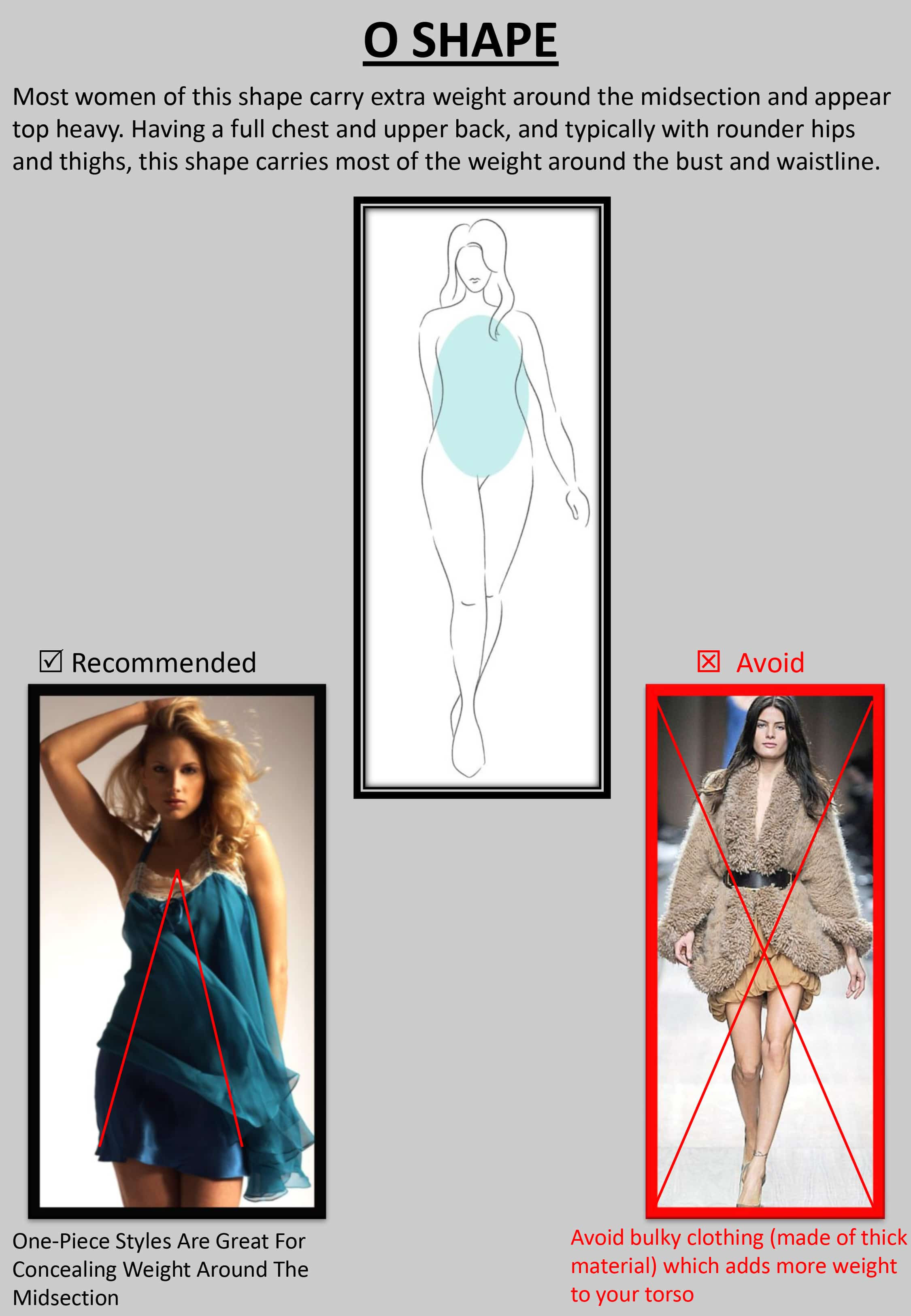 """O result - Tips : """"How to Dress up Your Body Shape?"""""""