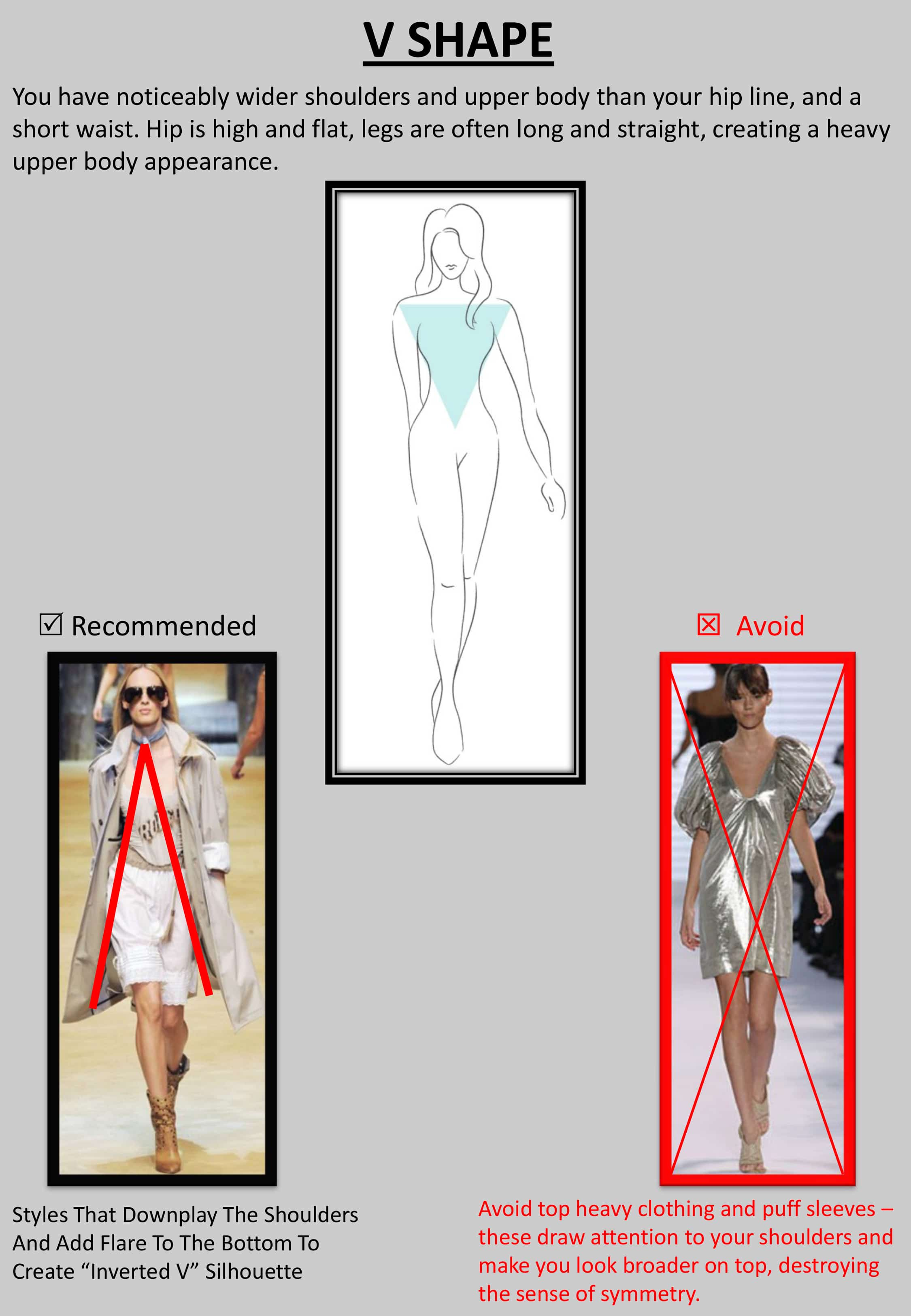 """V result - Tips : """"How to Dress up Your Body Shape?"""""""