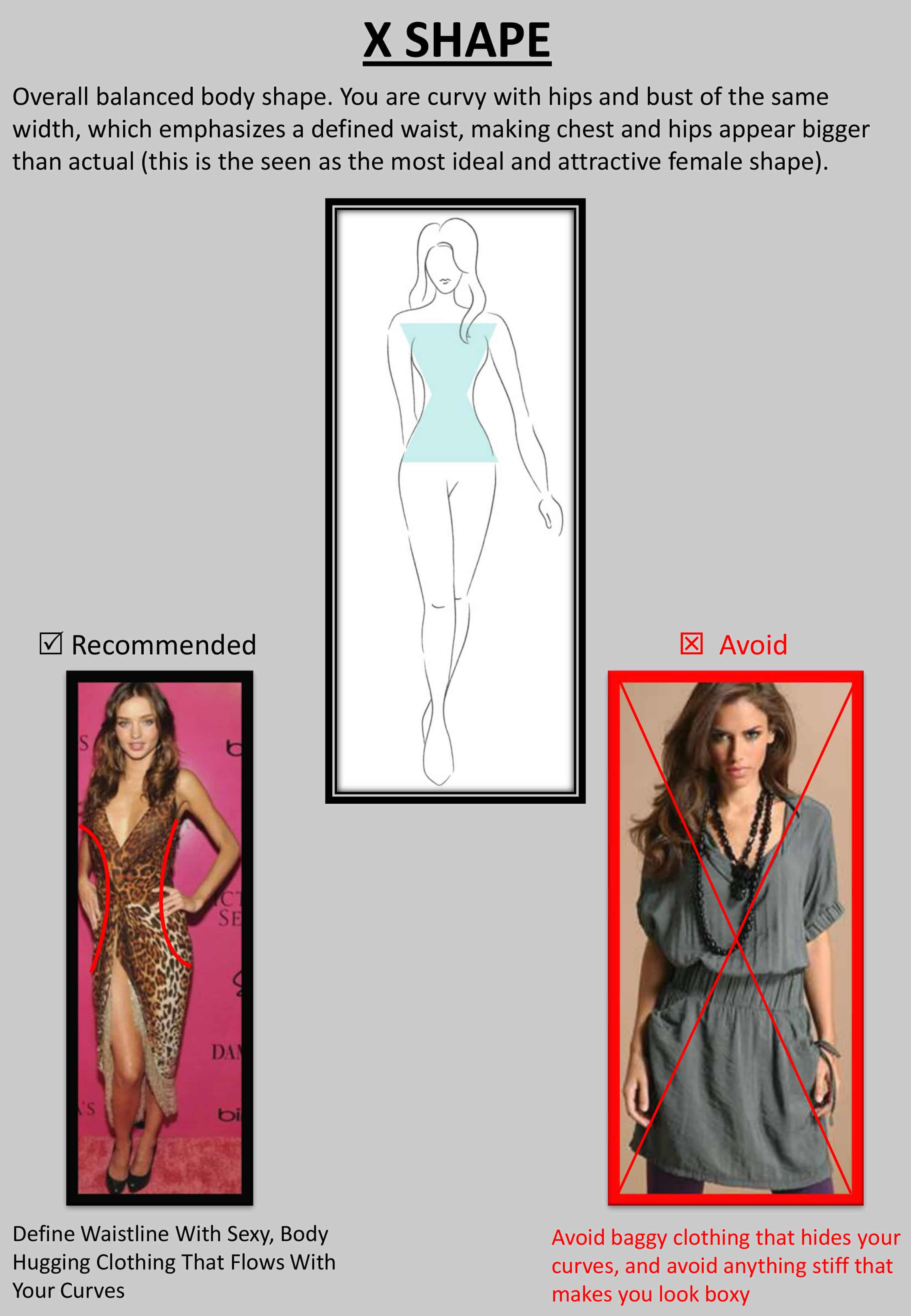 """X result - Tips : """"How to Dress up Your Body Shape?"""""""
