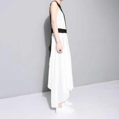 3013474838 1782961829 416x416 - New Fashion Chiffon Spaghetti Strap Asymmetrical Dress